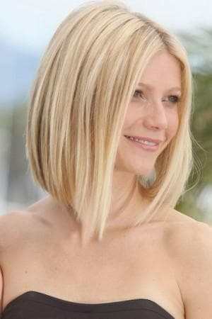 каре для тонких волос средней длины