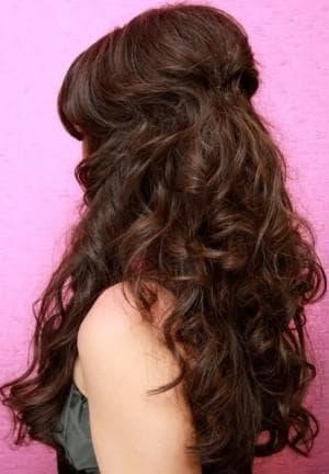 мальвинка на длинные волосы