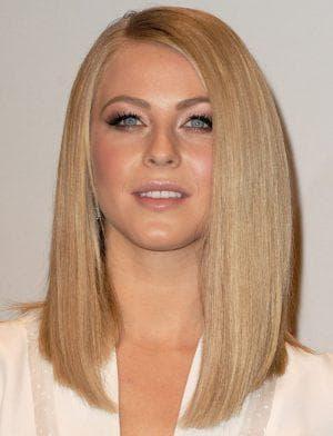 асимметричная стрижка на длинные тонкие волосы без чёлки