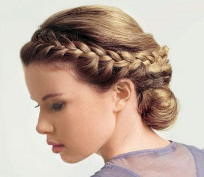 плетение на средние волосы для подростков