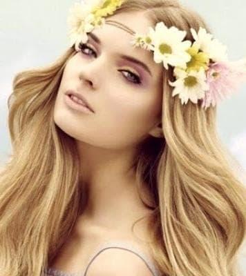 золотисто-пшеничный цвет волос