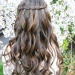 водопад на короткие волосы