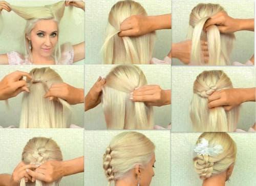 легкие и красивые прически на короткие волосы каждый день