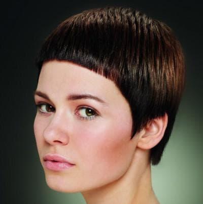 причёска короткий гарсон