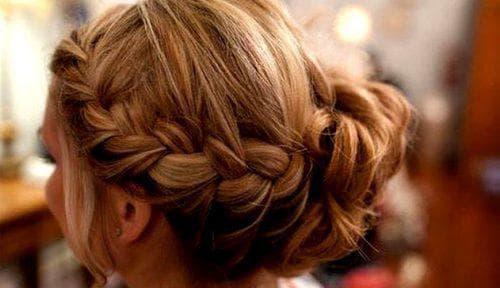 плетение косы по-французски для девочек на средние волосы