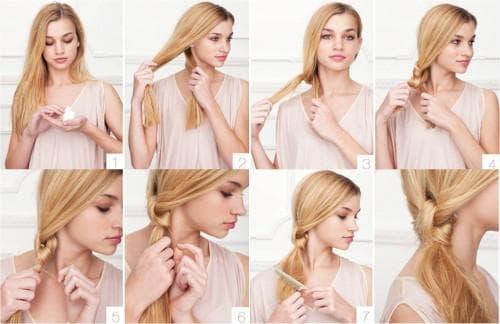 легкие и красивые прически на средние волосы каждый день