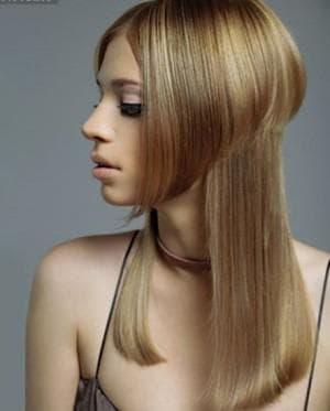 стрижка шапочка на длинные волосы без чёлки
