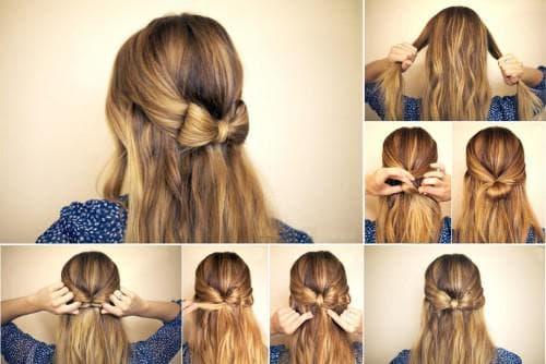 легкие и красивые прически на длинные волосы каждый день