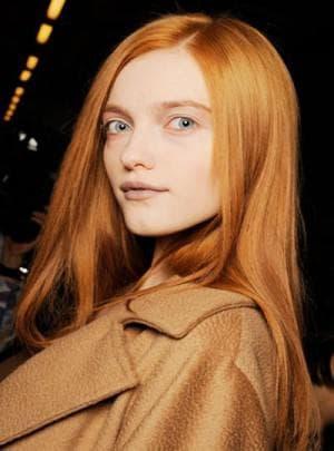 светлый рыжий цвет волос