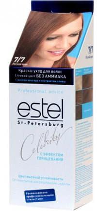 краска для волос орехового цвета Estel Celebrity