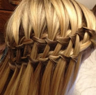 коса двойной водопад