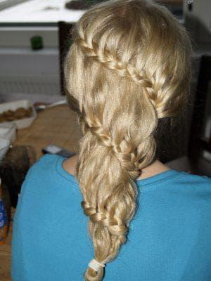 жгуты на средние волосы для подростков
