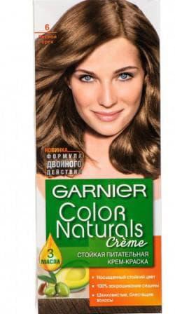 краска для волос орехового цвета Гарньер