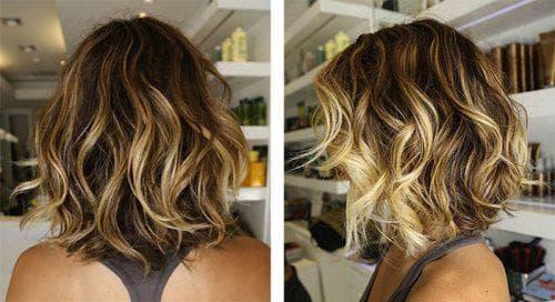 балаяж мелирование на короткие волосы