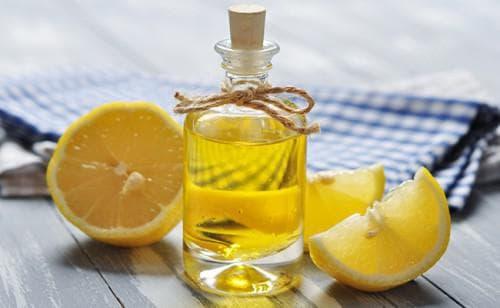 лимон, мед и масло репейника