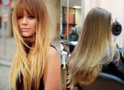 окрашивание волос шатуш на светлые волосы