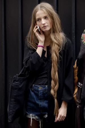 причёска рапунцель для длинных волос