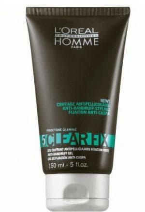 мужской гель для волос Professionnel Homme Clear Fix Gel
