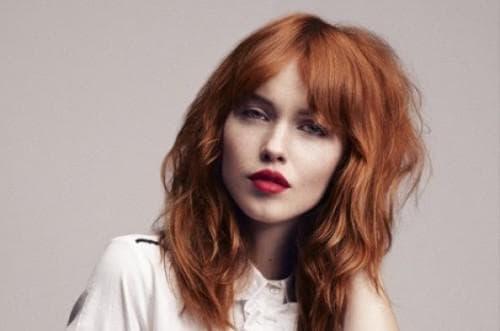 медовый – холодный тон рыжего цвет волос
