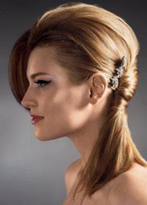 коса единорога на средние волосы