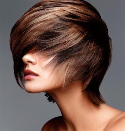 традиционное мелирование на черные волосы