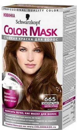 краска для волос Schwarzkopf 665 «золотистый шоколад»
