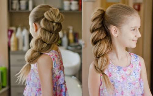 красивые и легкие прически необычные косы для девочек