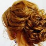 как сделать красивый пучок на средние волосы