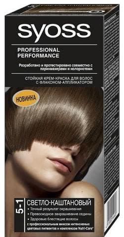 краска для волос Syoss оттенок 5-1