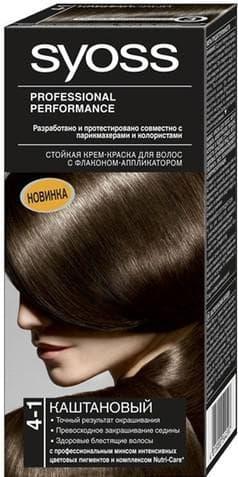 краска для волос Syoss оттенок 4-1