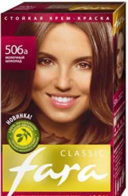 краска для волос Фара оттенок 506а