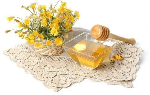 маска с димексидом и мёдом
