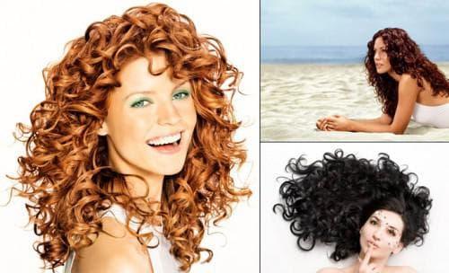 кислотная завивка на средние волосы