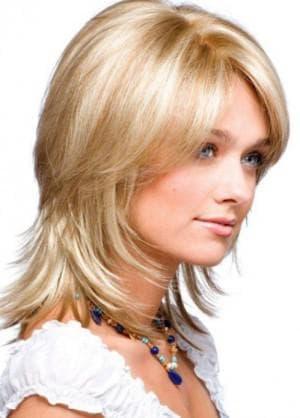 шапочка для тонких волос средней длины
