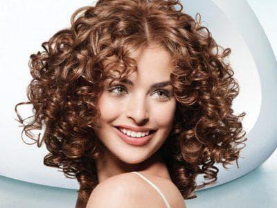 объемные локоны на средние волосы термическая завивка