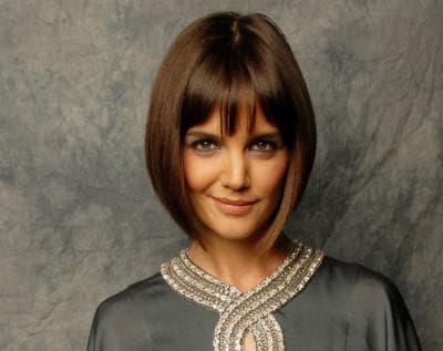 женская стрижка для худого лица
