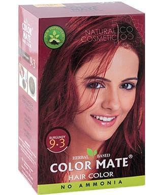 краска на основе хны Color Mate