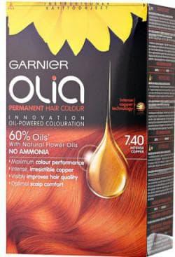 краска для волос Garnier Olia медно рыжий цвет волос