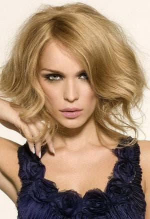 тёплые волосы для тонких волос средней длины