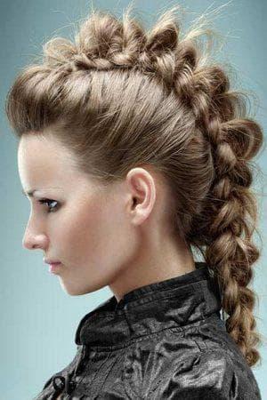 причёска с резинками Динозаврик для девочек