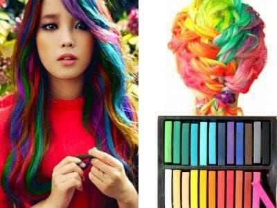 мелки для разных цветов волос