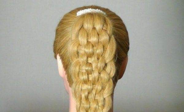 коса из 8 прядей
