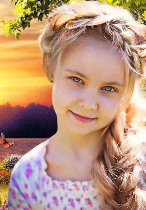 народная коса на длинные волосы для девочек