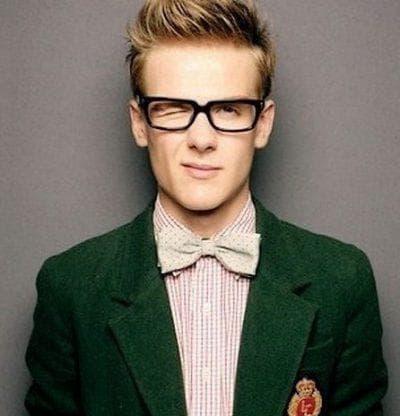 мужская стрижка британка на средние волосы
