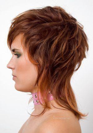 аврора на средние кудрявые волосы с чёлкой