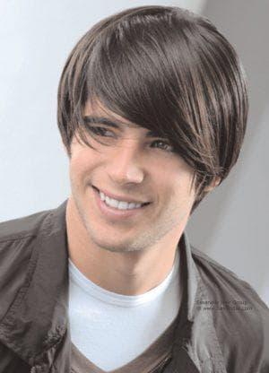 мужская стрижка боб на средние волосы
