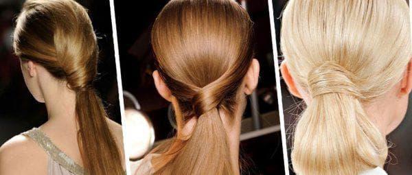 низкий хвост на длинные волосы для подростков