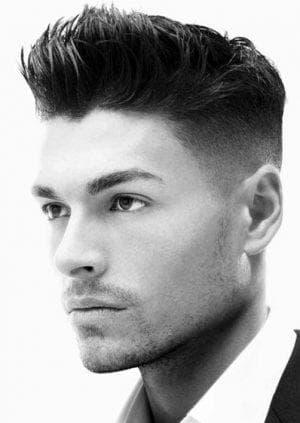 причёска Fade для парней