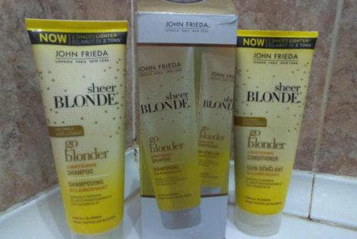 шампунь для осветлённых волос