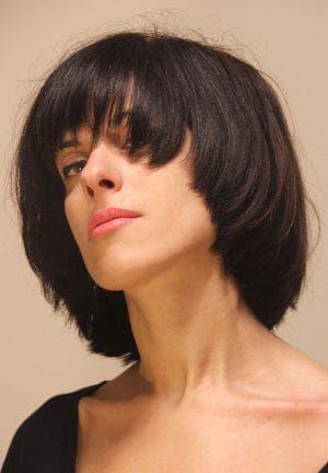 сэссун на средние волосы
